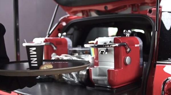 ขับรถแรงก็ได้ดื่มกาแฟแรง! กิมมิกใหม่การขายรถจาก MINI