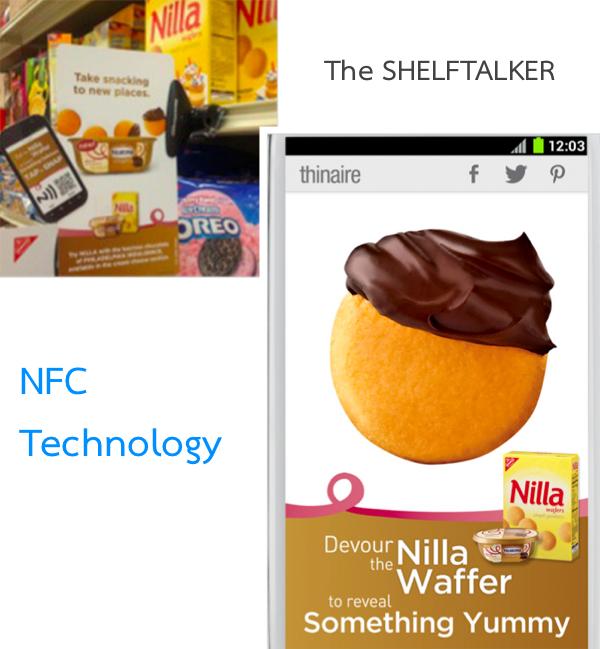 Kraft ยัน NFC โปรโมทสินค้าได้ผลกว่า QRcode