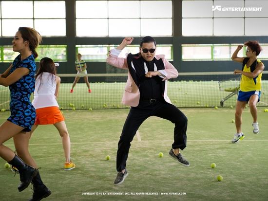 Gangnam Style ติดโผวีดีโอที่มีคนดูมากสุดตลอดการของ Youtube