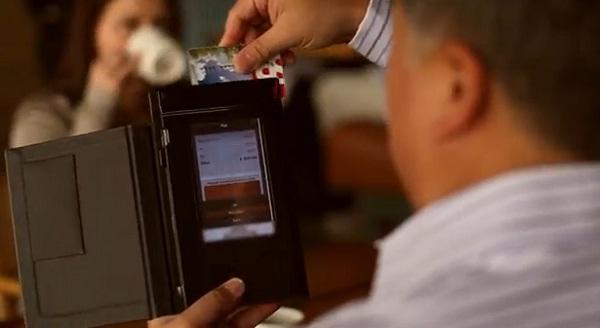 """""""แฟ้มบิลดิจิตอล"""" ช่วยลูกค้ารูดบัตรจ่ายเงินด้วยตัวเอง"""