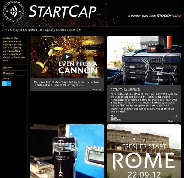 """ฝาขวดดิจิตอล """"Startcap"""""""