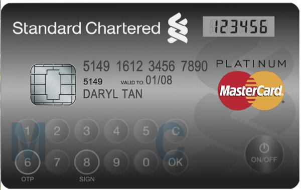 สิงคโปร์ที่แรกในเอเชียได้ใช้บัตรเครดิต LED