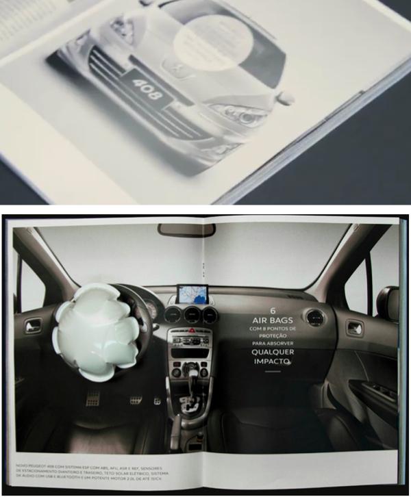 Peugeot ขายระบบ Airbag ผ่าน Print Ad ได้อย่างไร?