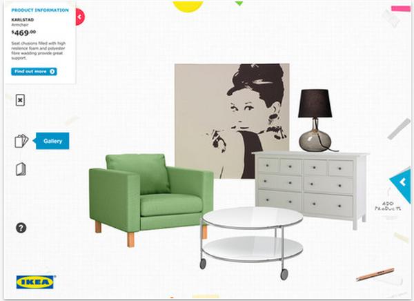 IKEA โชว์แอปฯใหม่ ออกแบบห้องได้ตามจินตนาการ