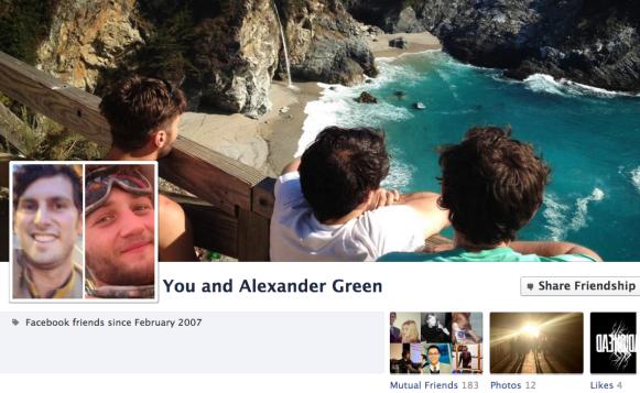 เฟซบุ๊คเปลี่ยนหน้า Friendship ใหม่ ไฉไลกว่าเดิม