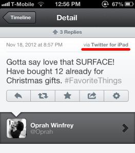 Oprah พลาดท่า ! อุทธาหรณ์ celeb marketing