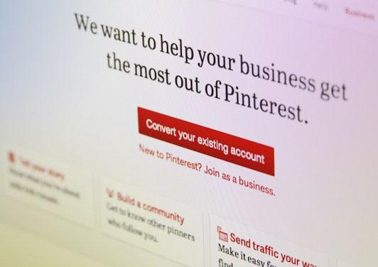 Pinterest เปิดรับ business page แล้ว