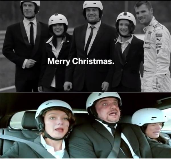 ค่ายรถยนต์ใช้ไอเดียโฆษณาอะไรขายรถช่วงคริสต์มาส