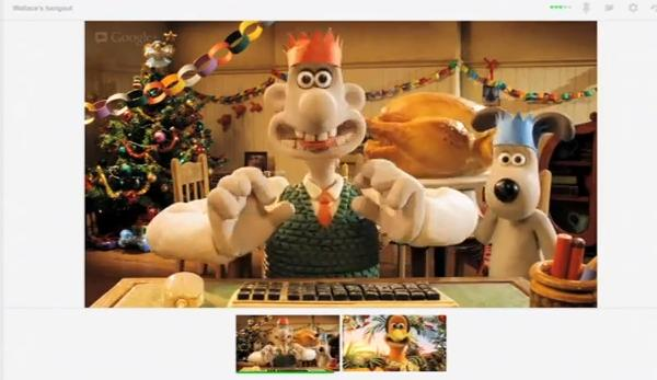 Google สร้างวิดีโอโปรโมท Hangout ด้วย Wallace and Gromit