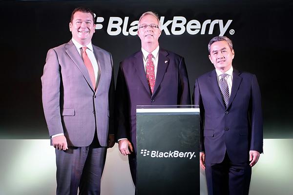 แบล็คเบอร์รี่ เปิดสำนักงาน ในประเทศไทย