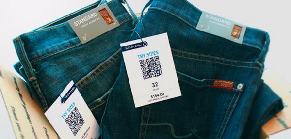 Hointer ใช้ QRcode ขายกางเกงยีนส์ได้ไวสุดๆ
