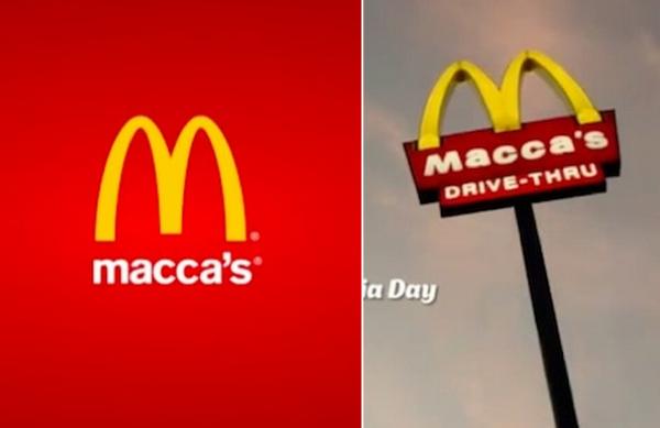 ตะลึง! แมคโดนัลด์เปลี่ยนชื่อแบรนด์เป็น Macca's