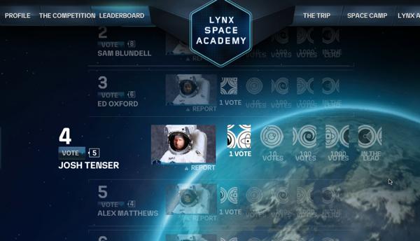 AXE Apollo แคมเปญใหญ่ส่งคนไปเหยียบอวกาศ