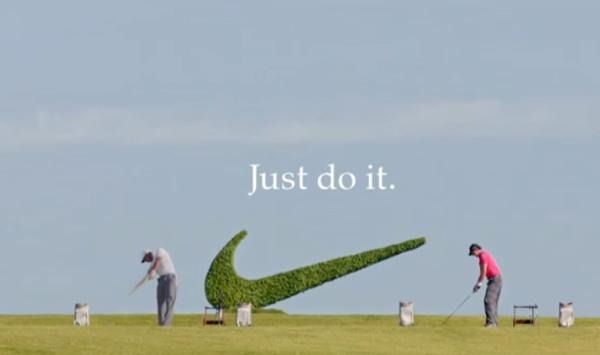 ไนกี้ล่อโปรกอล์ฟด้วยโฆษณาใหม่นำ 2 ฮีโร่แห่งวงการมาจอยกัน!