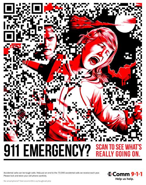 QR Code แนว 911