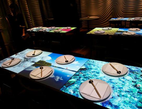 สร้างจุดขายร้าน ด้วยโต๊ะอาหาร interactive