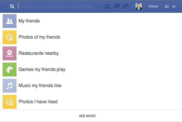 """""""Graph Search"""" ระบบค้นหาใหม่ของเฟซบุ๊ค"""