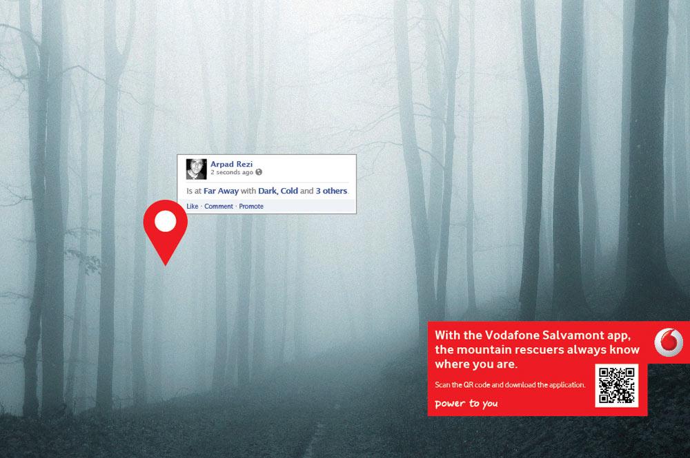 Vodafone ปล่อย App ช่วยชีวิตให้กับคนชอบเที่ยวภูเขา