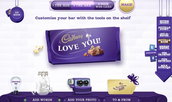 Cadbury ออกช็อคโกแลต DIY ฉลองได้ทุกเทศกาล