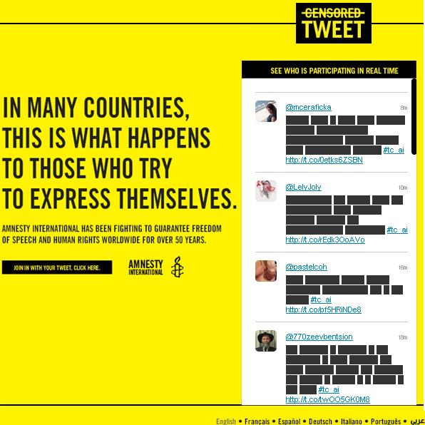 viral ต่อต้านการเซ็นเซอร์ ด้วยทวีตแถบดำ