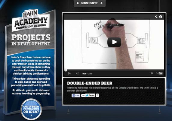 Hahn Academy – ใช้ Content สร้างให้เบียร์มีนวัตกรรมและจินตนาการ