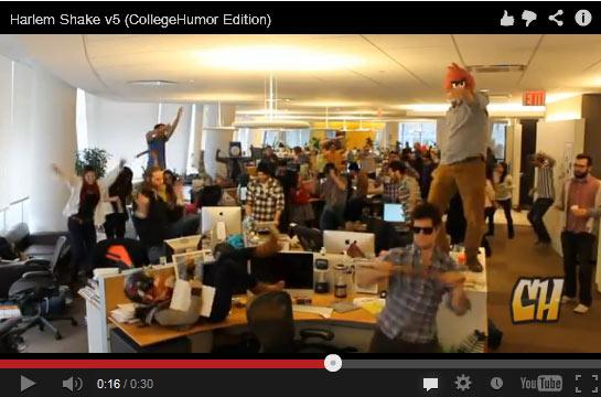 Harlem Shake – เทรนด์ Viral Video ที่แรงสุดๆ ณ ตอนนี้