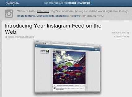 เล่น Instagram ผ่านเว็บ เห็น Feed แล้ว !