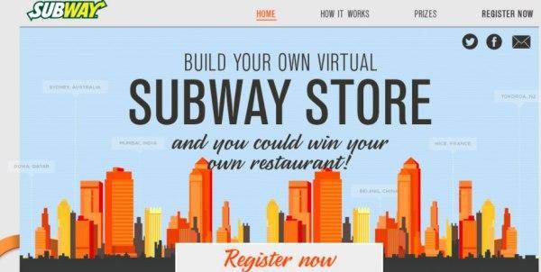 Subway จัดแข่งบริหารร้านเสมือนออนไลน์