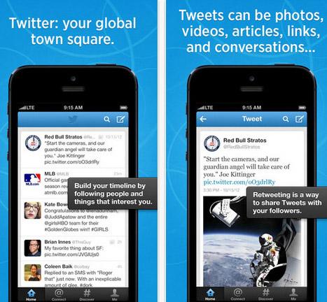 Twitter ปรับดีไซน์แอพและหน้าจอมือถือ