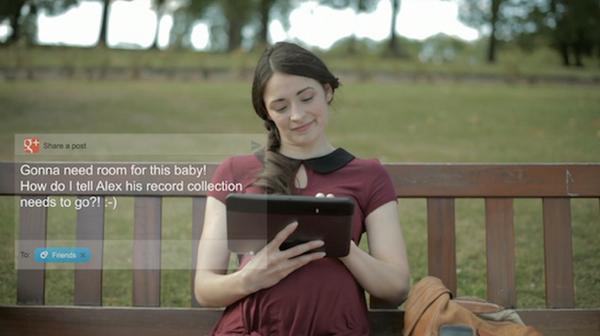 """กูเกิลเจาะตลาดอังกฤษด้วยโฆษณาชุด """"คนท้อง"""""""