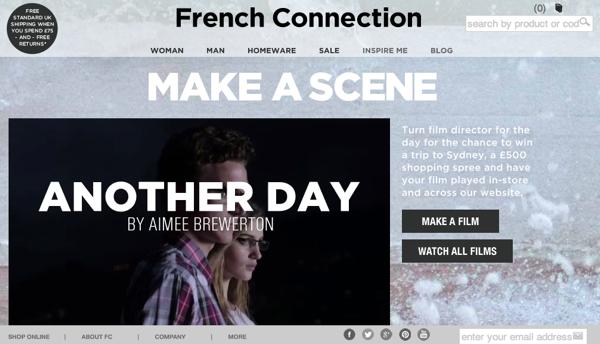 FCUK เปิดแคมเปญใหม่ Make A Sense ชวนคุณเป็นผู้กำกับหนัง