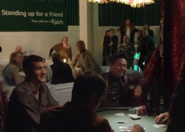 คาล์สเบิร์กแกล้งเพื่อนเพื่อหาเพื่อนแท้
