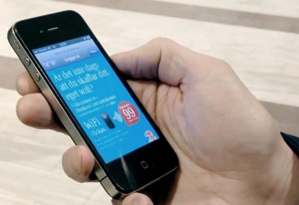 เครือข่าย 3 เล่นง่ายขาย Wi-Fi ด้วยการแจก Wi-fi ฟรี