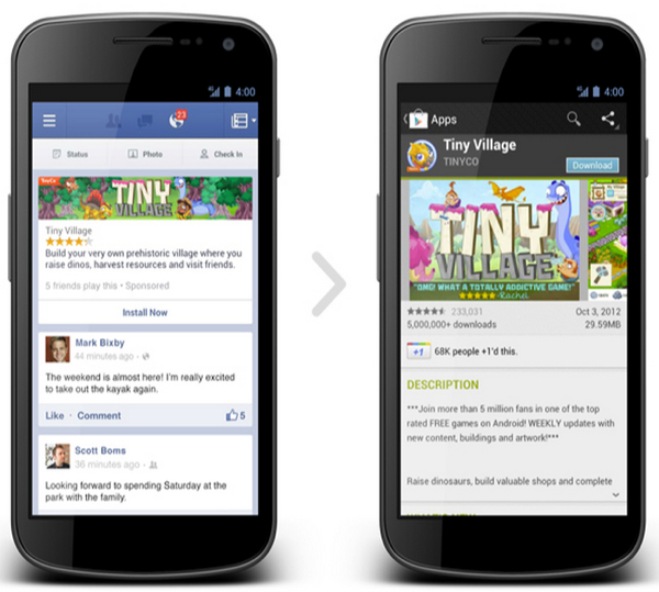 โฆษณาใน Facebook กระตุ้นยอดโหลดแอปฯ ได้อย่างไร?