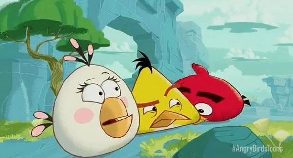 """เตรียมฉายแล้ว """"Angry Birds Toons"""""""