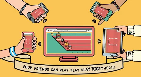Google ชวนชาวอังกฤษแข่งเกม Super Sync Sports