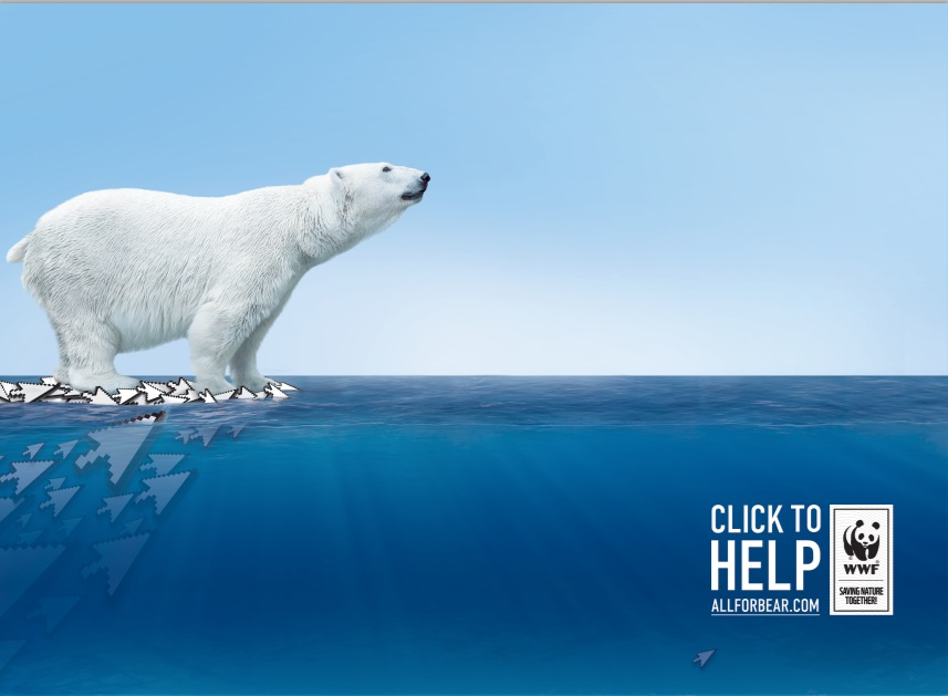 Allforbear.com แคมเปญช่วยเหลือหมีโพล่าร์ จาก WWF