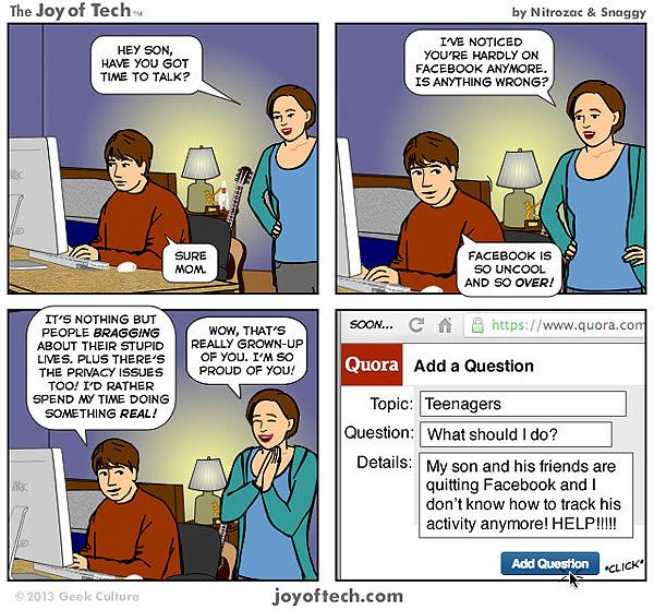 จับกระแส เด็กยุคใหม่ถอยไกล Facebook