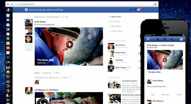 Facebook เปลี่ยนหน้าตา News Feed ครั้งใหญ่