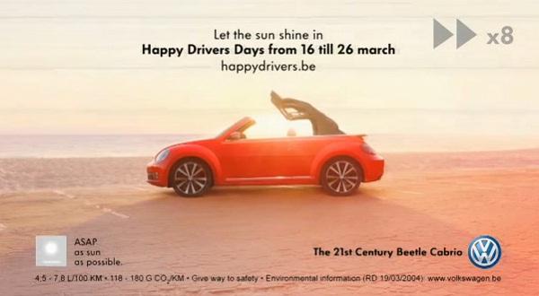Volkswagen ปิ๊งไอเดียปั้นโฆษณา Slowmercial สำหรับคนใจร้อน
