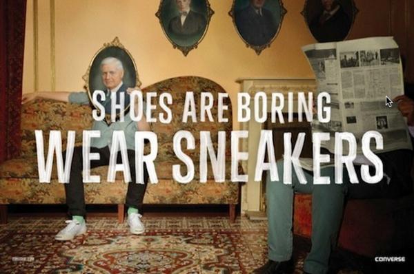 Converse ย้ำชัดด้วยโฆษณาชุดใหม่ว่าแบรนด์นี้คือรองเท้าของวัยรุ่น