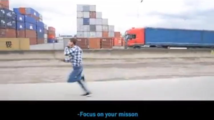 Adidas ท้าวัยรุ่นกระตุ้นการวิ่ง ด้วย Mission Impossible