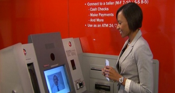 Bank of America เปิดตัวตู้เอทีเอ็มวิดีโอแชต