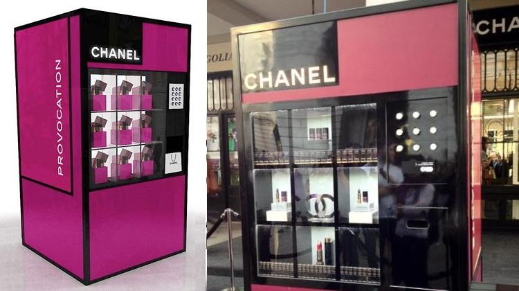 """""""ตู้ขายมาสคารา Chanel อัตโนมัติ"""" เปิดตัวแล้วที่อังกฤษ"""
