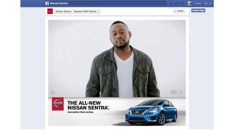 Nissan ชวนชาว Facebook สร้างและแชร์โฆษณาของตัวเอง