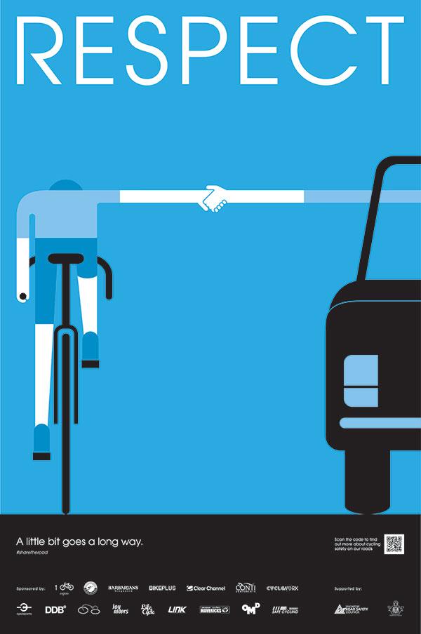 โฆษณา Outdoor ขับขี่จักรยานปลอดภัย