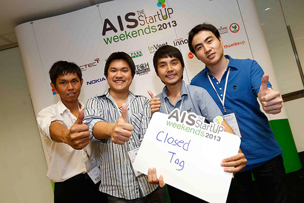 5 ทีมเลือดใหม่ ไอเดีย  5 แอพฯ #AIS StartUp Weekends