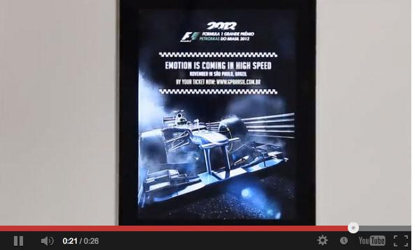 ไอเดียโฆณษา Formula 1 ที่เร็วจนต้องแชร์