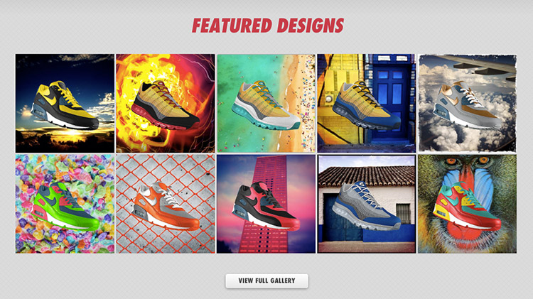 Nike โชว์แอปออกแบบรองเท้าจากภาพ Instagram