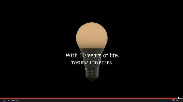10 ปีของชีวิตผู้ชายคนหนึ่ง กับหลอดไฟโตชิบา